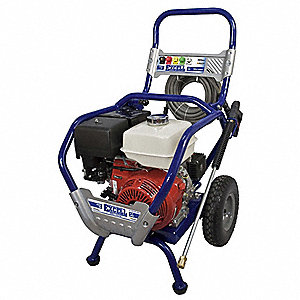Pressure Washer, Cold Water Type, 4000 psi, 4 gpm