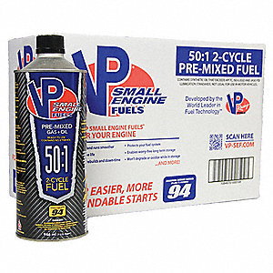 Small Engine Fuel,  2 Cycle, 1 qt., PK8
