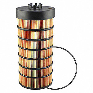"Spin-On Oil Filter Element, Length: 10-7/16"", Outside Dia.: 4-3/4"", Micron Rating: 16"