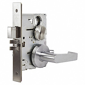 Mortise Lockset, MA Dane Gala, Mechanical, Not Keyed Key Type, Mortise, Commercial