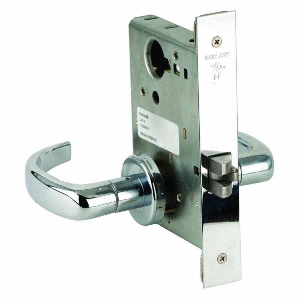 Schlage Lever Lockset Mechanical Passage Grd 1 46tn31