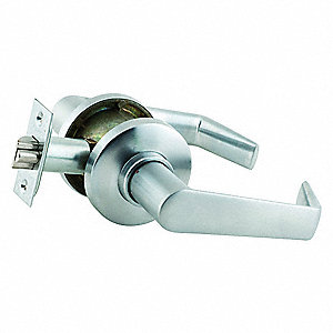 Lever Lockset, Mechanical, Passage, Grd. 2