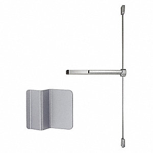 Exit Device, Series 22, Aluminum, Surface Vertical Rod