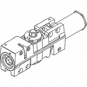 Standard Cylinder Assembly,12-1/8 in. L