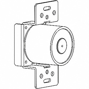Electromagnetic Door Holder,2 in. D