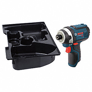 "1/4"" Hex Cordless Impact Driver, 12.0 Voltage, 930 in.-lb. Max. Torque, Bare Tool"