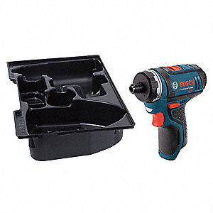 "1/4"" Cordless Screwdriver, 12.0 Voltage, Bare Tool"