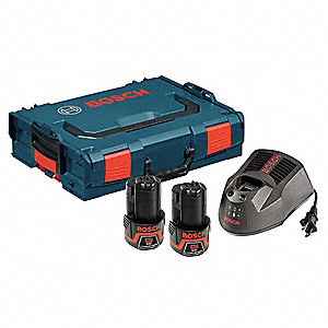 12V MAX Battery and Charger Kit, 12.0 Voltage, Li-Ion