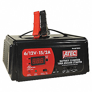 CHARGER 6/12V 15/2A AUTO 100A START