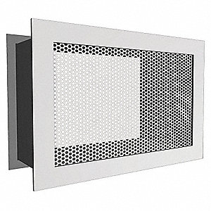 Risk Resistant Return Air Grille,10x10