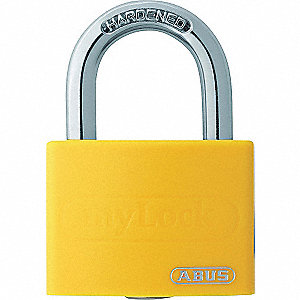 METAL PADLOCK WITH 3/4 SHACKLE