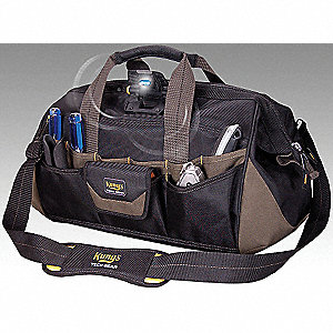 TECHGEAR 18IN LIGHTED CLSD TOP TOTE
