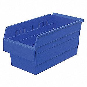 SHELF BIN 15-5/8 X 8 281 X8 BLUE