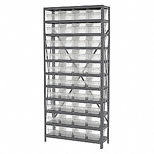STEEL SHELVING 30080 BIST