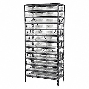 13 STEEL SHELVING 30178 BIST