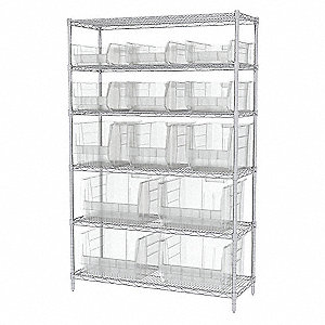 WIRE SHELVING 30280 281 282 283