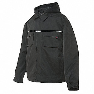 Jacket, Insulated, Black, L