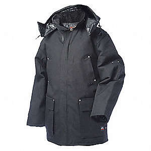 Parka,  Insulated,  Black,  L