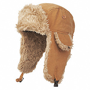 Winter Hat, Duck, Brown, L