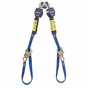 9 ft. Self-Retracting Lifeline with 420 lb. Weight Capacity, Blue