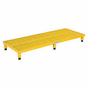 STAND ADJ SERRATED STEEL 24X60 5-8H