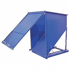 HOPPER STEEL CHUTE 3-YARD 2K CAP