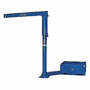 BASE OPTION OFFSET JIB CRANE 18IN