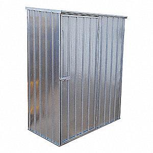 SHED STORAGE STEEL FRONT DOOR 59X32