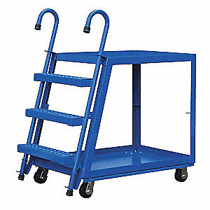 "Stockpicker Truck,660 lb,39-3/4""x20-1/2"""