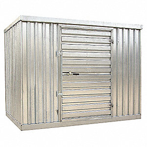 BUILDING STORAGE GALVANIZED DOUBLE