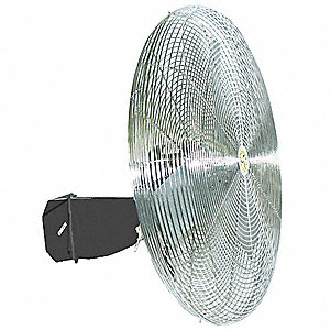 "30"" Commercial Wall-Mounted Oscillating Air Circulator"