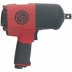 "Industrial Duty Air Impact Wrench, 3/4"" Square Drive Size 184 to 922 ft.-lb."