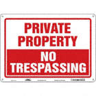 Private Property: No Trespassing Signs