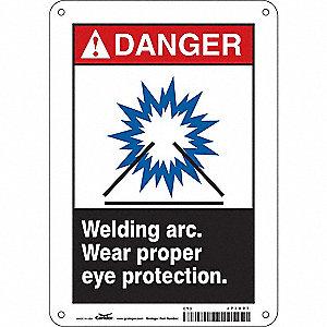 Black White Danger Warning And Caution Signs Grainger Industrial