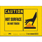 Caution: Hot Surface Do Not Touch Signs