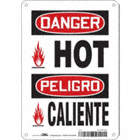Danger/Peligro: Hot/Caliente Signs