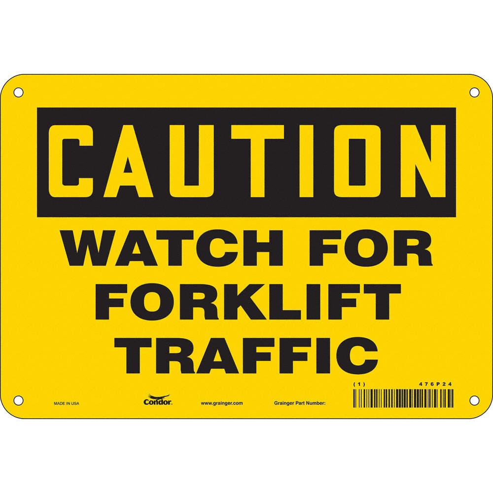 Forklift Safety Signage