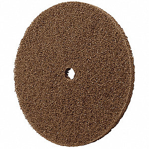"4"" Clean and Strip Cup Wheel, Arbor Hole, Aluminum Oxide, Medium Grit"
