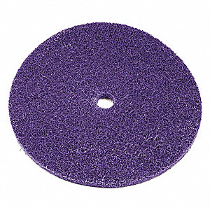 "12"" Clean and Strip Cup Wheel, Arbor Hole, Aluminum Oxide, Medium Grit"