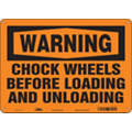 "Vehicle or Driver Safety, Warning, Vinyl, 10"" x 14"", Adhesive Surface, Not Retroreflective"