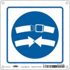 Square Seat Belt Signs