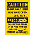 "Health Hazard, Caution, Vinyl, 14"" x 10"", Adhesive Surface, Not Retroreflective"