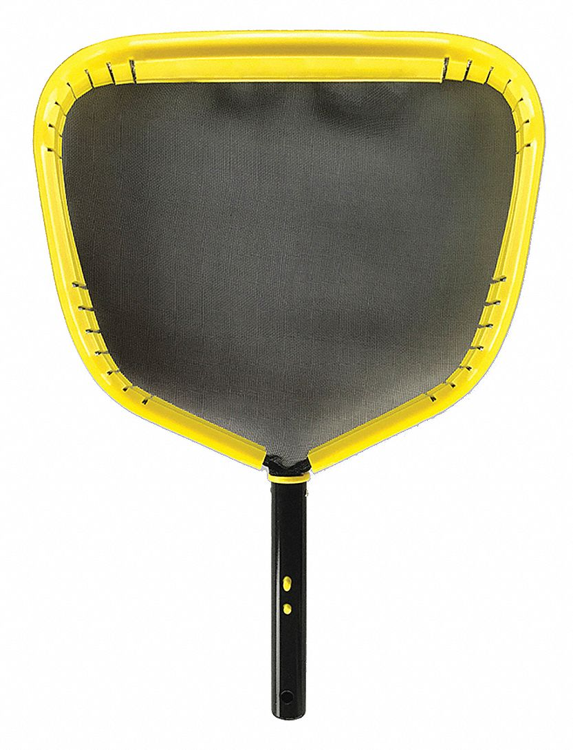 EZ Clip Handle Leaf Skimmer, Black/Yellow/Enameled