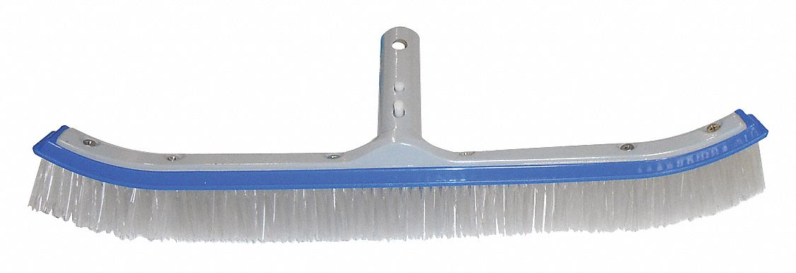 EZ Clip Handle Pool Brush, Blue/Gray/Enameled