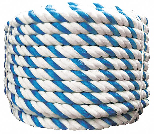 Rope, Blue/White