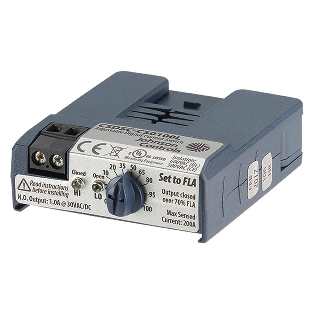 johnson controls current sensing relay 24vac 1 00a 30v 1 00a rh grainger com