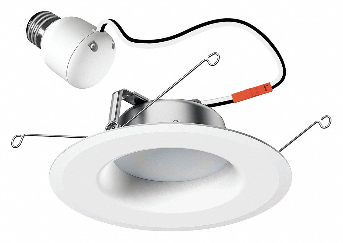 6 in Dimmable LED Downlight Retrofit Kit; Lumens: 1000, Voltage: 120, Watts: 13 W