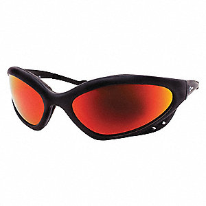 Anti-Fog Safety Glasses, Smoke Lens Color