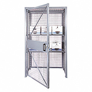 Enjoyable Bulk Storage Locker Openings 1 Shelves 2 48W X 30D X 84H Home Interior And Landscaping Ologienasavecom