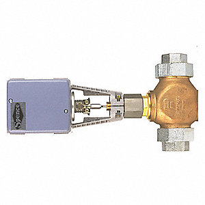 "Electric Globe Control Valve, 1-1/2"" Pipe"